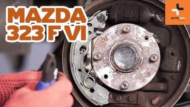 Mazda 323 hintere Bremsen