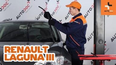 Renault Laguna 3 Scheibenwischer