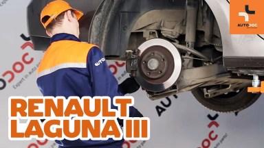 Renault Laguna 3 Bremsen hinten