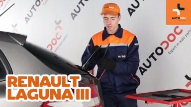 Renault Laguna 3 Scheibenwischer hinten
