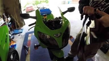 Kawasaki Ninja ZX636A Windschild