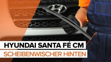 Hyundai Santa Fe CM Scheibenwischer hinten