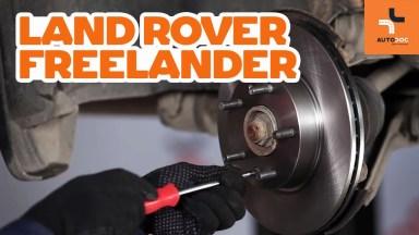 Land Rover Freelander Bremsen vorne