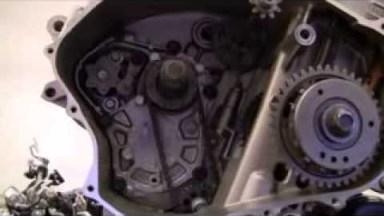 Honda CBF1000 Getriebe