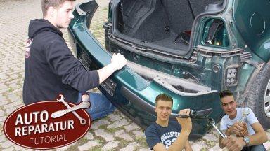 Volkswagen Golf4 Stoßstange hinten