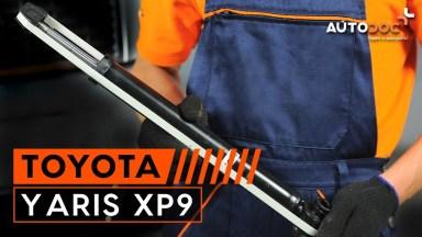 Toyota Yaris XP9 Stoßdämpfer hinten