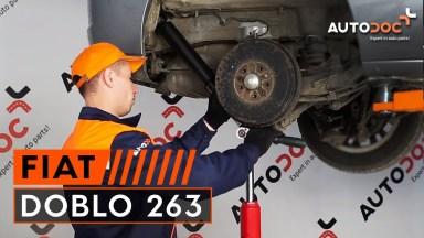 Fiat Doblo 263 Stoßdämpfer hinten