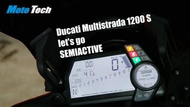 Ducati Multistrada 1200 S DES semiaktiv mit Öhlins Steuereinheit