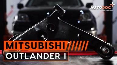 Mitsubishi Outlander 1 Querlenker vorne