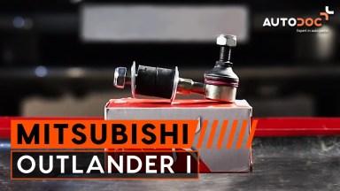 Mitsubishi Outlander 1 Koppelstange vorne