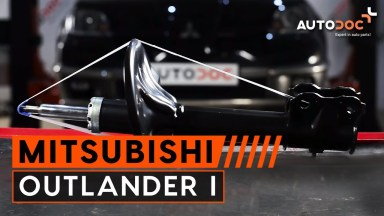 Mitsubishi Outlander 1 Stoßdämpfer vorne