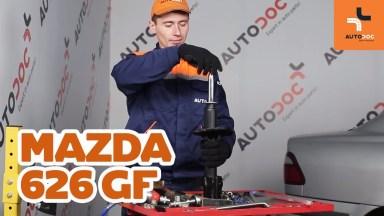 Mazda 626 GF Stoßdämpfer hinten