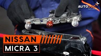 Nissan Micra 3 Heckleuchtenglühlampe