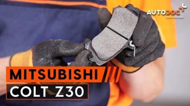 Mitsubishi Colt Z30 Bremsen vorne