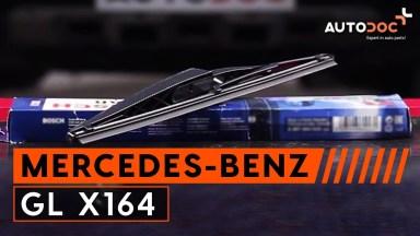 Mercedes-Benz GL X164 Scheibenwischer hinten