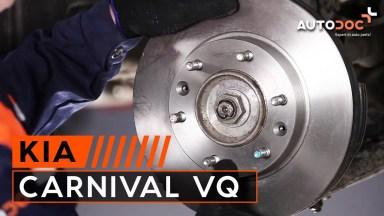 Kia Carnival VQ Bremsen vorne