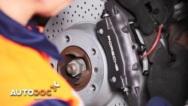 Porsche Boxster 981 Bremsen hinten