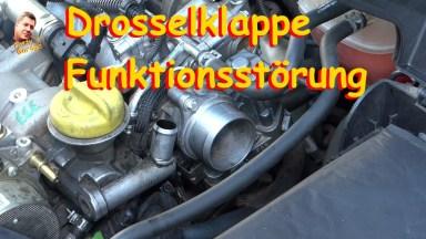 Opel Vectra C Drosselklappe Funktionsstörung
