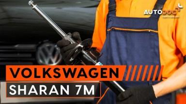 Volkswagen Sharan 7M Stoßdämpfer vorne
