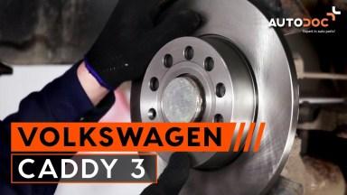 Volkswagen Caddy 3 Bremsen hinten