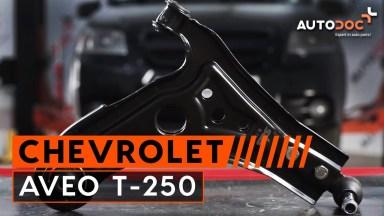 Chevrolet Aveo T-250 Querlenker vorne