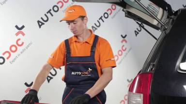 Opel Zafira A Gasdruckfeder