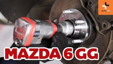 Mazda 6 Radlager hinten