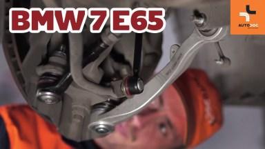 BMW 7 E65 vorderen unteren Querlenkerarm
