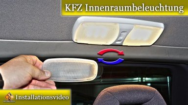 Auto Innenraumbeleuchtung auf LED