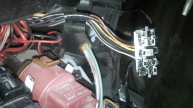 Renault Megane Reparatur des elektrischen Steckers