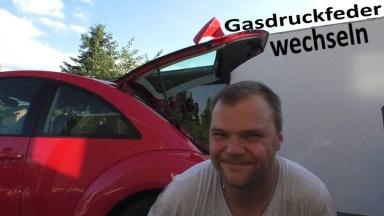 Volkswagen Beetle Gasdruckfeder Heckklappe
