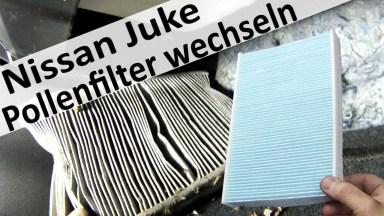 Nissan Juke Innenraumfilter
