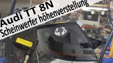Audi TT 8N Scheinwerfer Stellmotor für höhenverstellung