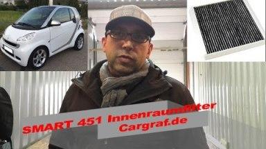Smart 451 Innenraumfilter