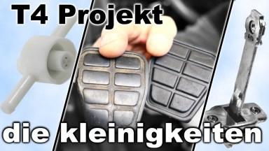 Volkswagen T4 Pedalbelag und Rückschlagventil für Dieselfilter