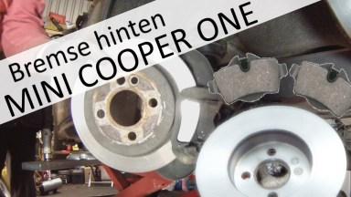 Mini Cooper Bremsen hinten