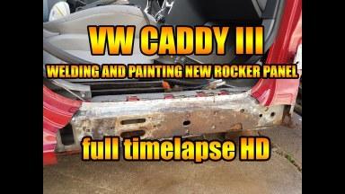 Volkswagen Caddy 3 Seitenschweller
