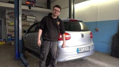 Volkswagen Golf5 Heckdiffuser