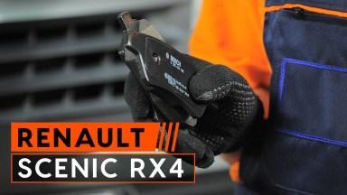 Renault Scenic RX4 Bremsbeläge hinten