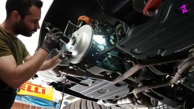 Mercedes Benz CLS Bremsen hinten