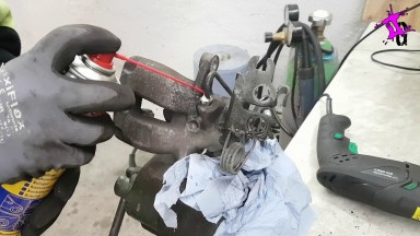 Volkswagen Caddy Bremssattel und Bremsen hinten