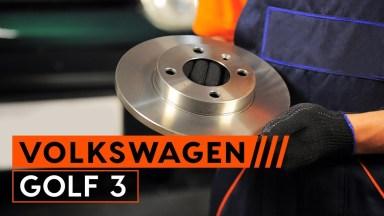 Volkswagen Golf3 Bremsscheiben vorne