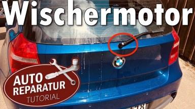 BMW 1er E87 Heckwischermotor