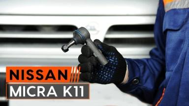 Nissan Micra 2 Spurstangenkopf vorne