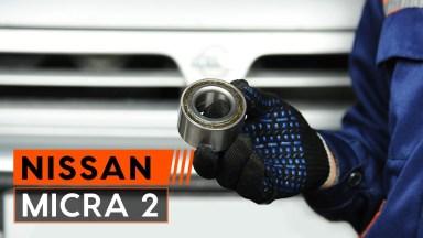 Nissan Micra 2 Radlager vorne