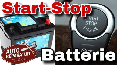 Volvo V40 Start Stop Batterie