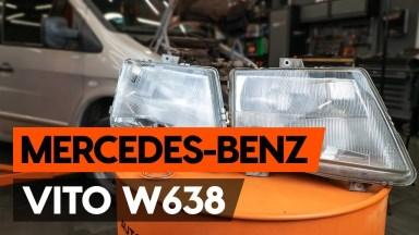 Mercedes Vito Frontscheinwerfer