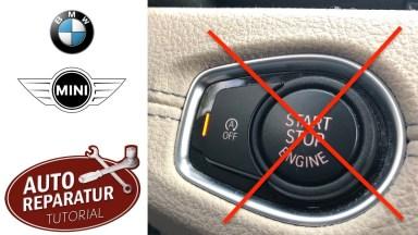 BMW F Modelle Start Stop Automatik