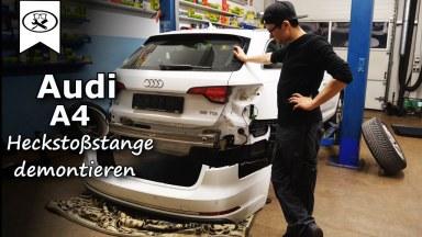 Audi A4 B9 Heckstoßstange