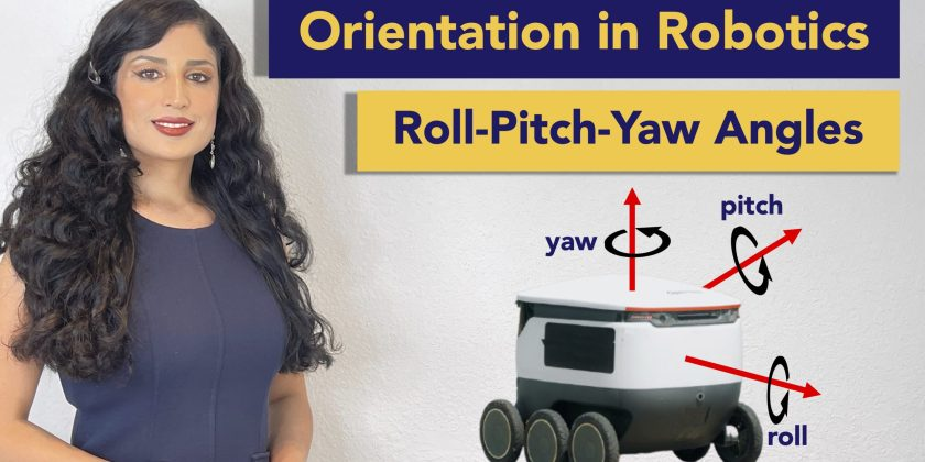 Other Explicit Representation for the Orientation in Robotics: Roll-Pitch-Yaw Angles